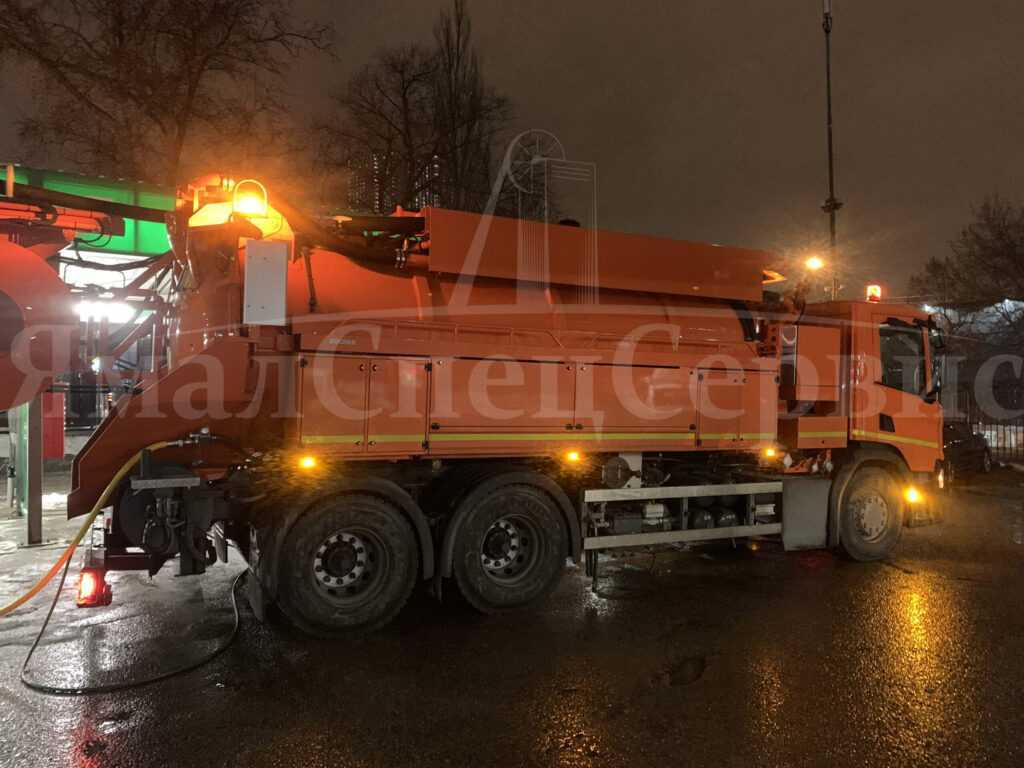Прочистить канализацию в Москве