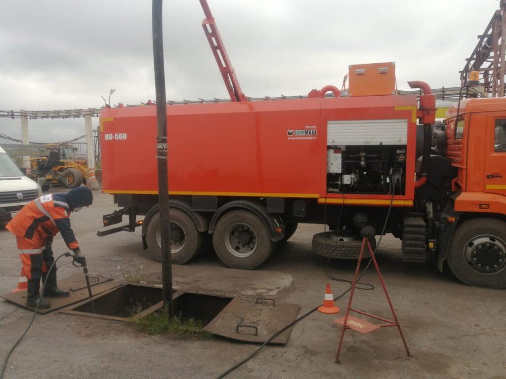 Каналопромывочная машина - Камаз
