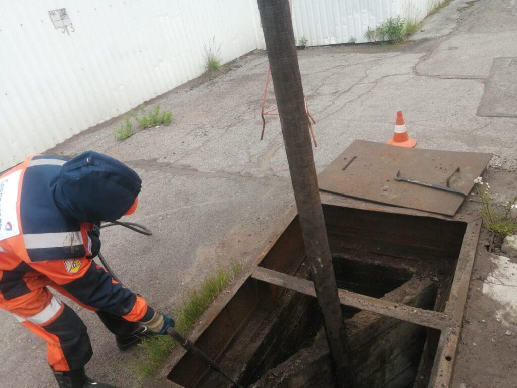 Гидродинамическая промывка труб в Москве