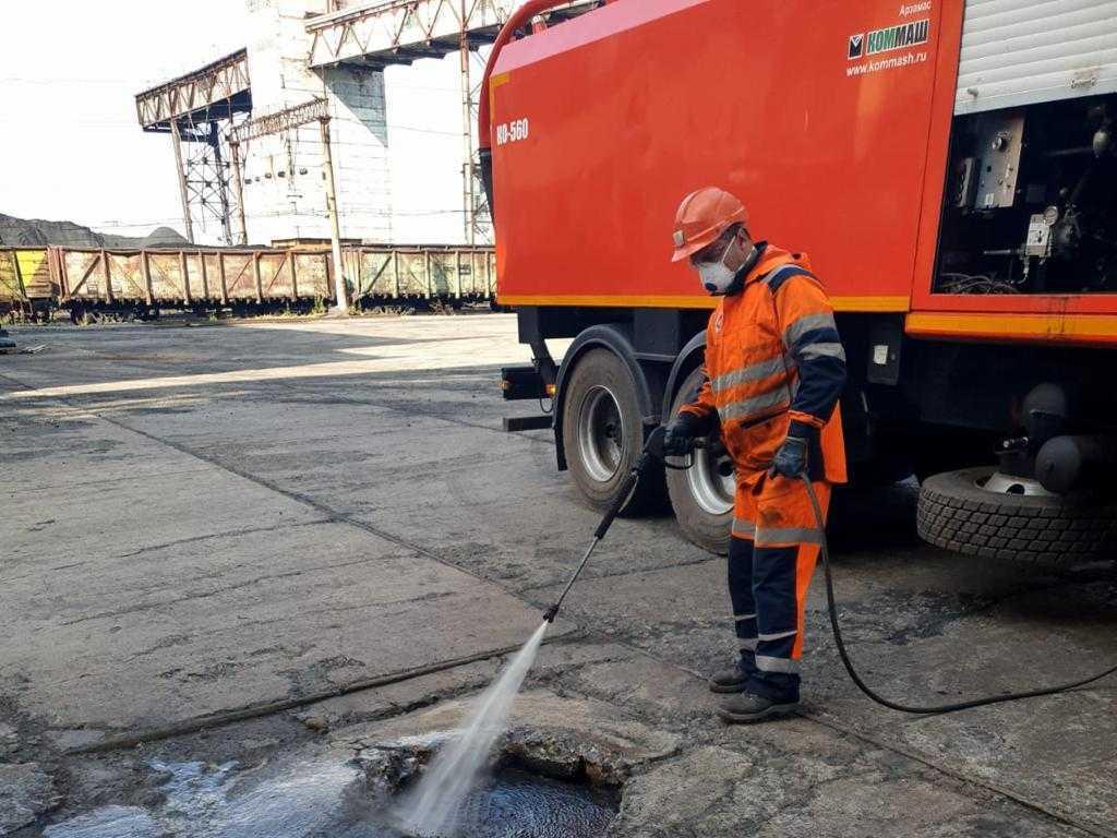 Промывка трубопровода в Москве
