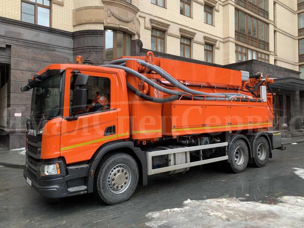 Каналопромывочная машина ко-514 и ее преимущества