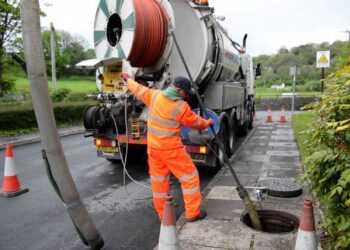 Promyvka kanalizatsionnyh livnevyh setej 1