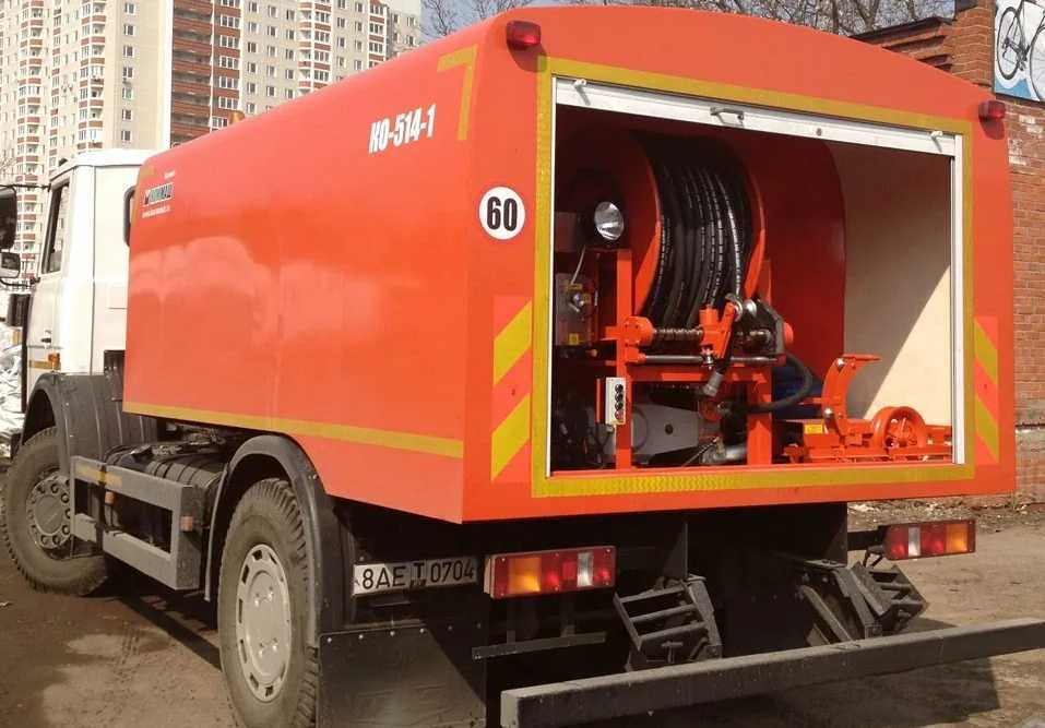 Каналопромывочные машины - Санитары канализационных сетей