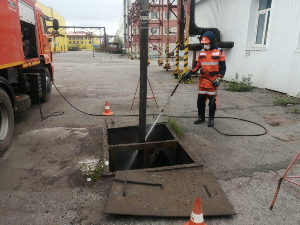 Надежная промывка ливневой канализации